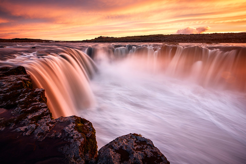 selfoss waterfall fotokunst mads peter iversen aarhus sunset solnedgang island fotograf fine art landscape river iceland cliffs epic amazing beautiful best colors longexposure photography panorama 4.jpg