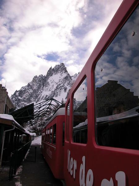 Train Ride Chamonix France
