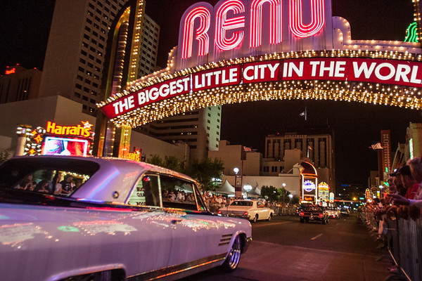 Hot August Nights Classic Car Reno Arch