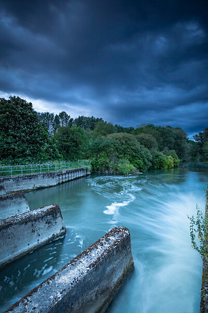 Stormy at The Weir