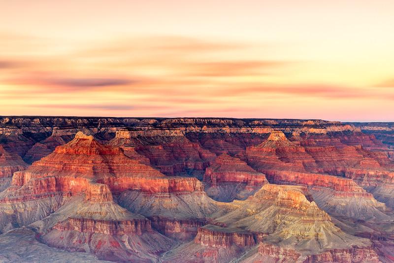Sunset @ Yaki Point, Grand Canyon National Park