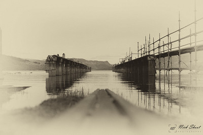 Lady of the lake slipway Antique