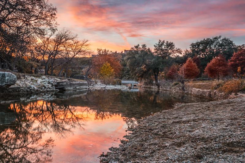 Bull Creek Sunset