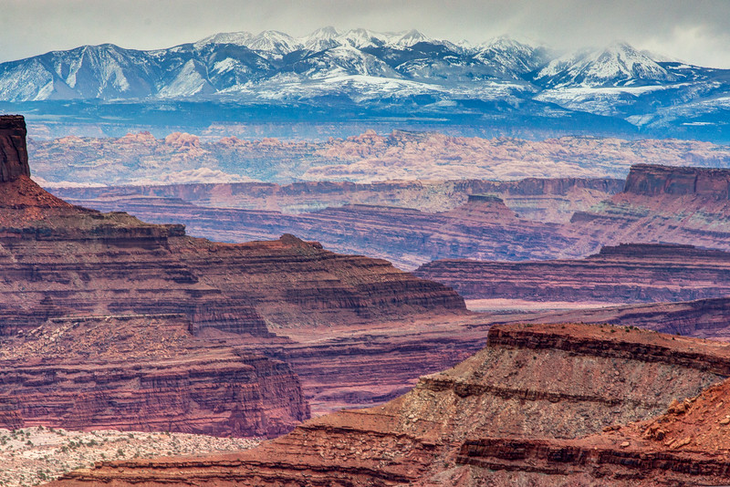 Mountains near Canyonlands National Park