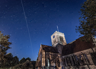 Space Station Passing Over Ringwood
