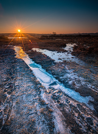 An icy start to the day