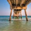 Under the Destin Pier