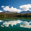 Unna Lake in Bowron Lake Provincial Park