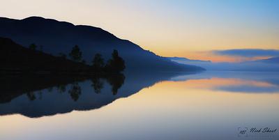 Loch Katrine Mirror sunrise