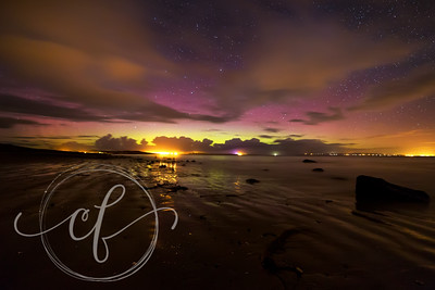 Northern Lights (Aurora Borealis) at Castgregory Beach