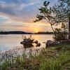 Sunset on Inks Lake
