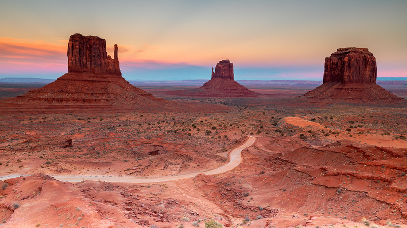 Sunset @ Monument Valley