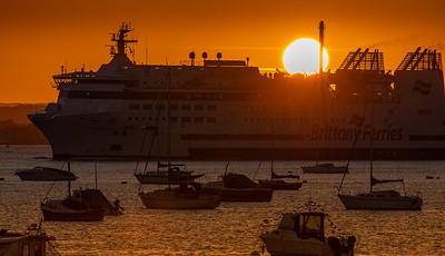 The Sun Sets Over The Barfleur