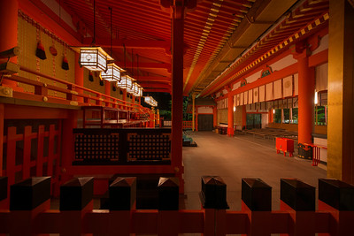 Fushimi Inari prayers hall - 伏見稲荷大社(ふしみいなりたいしゃ)
