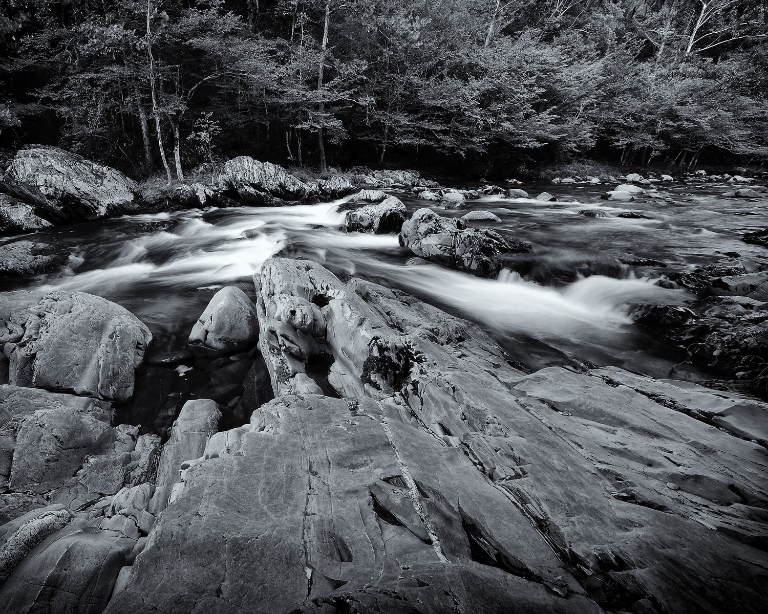 Pigeon River, Smoky Mountain National Park, Tennessee