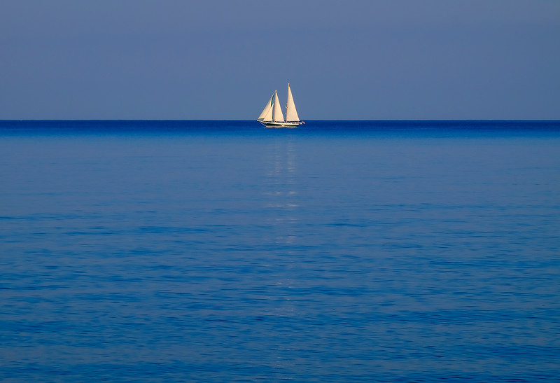 sailing lake huron