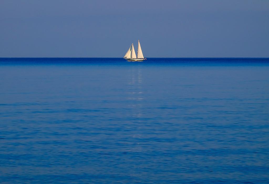 sailing lake huron