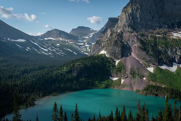 Grinnell Lake Overlook, Glacier National Park, MT