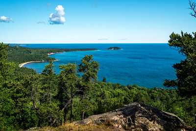 little presque isle from sugarloaf mountain