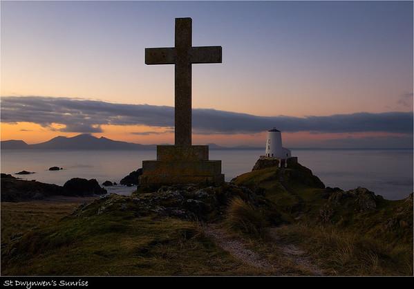 St Dwynwen's Sunrise
