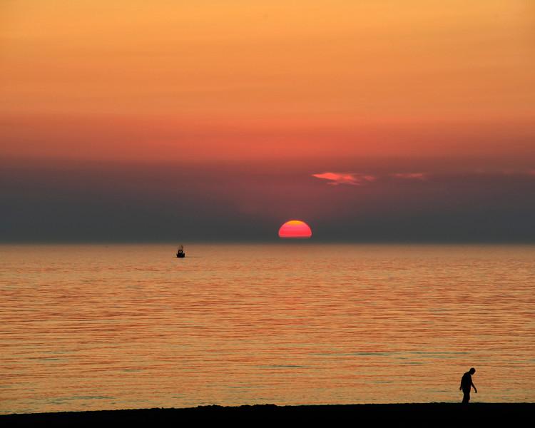 Sunset at Stern's Beach