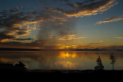 Geyser Sunrise