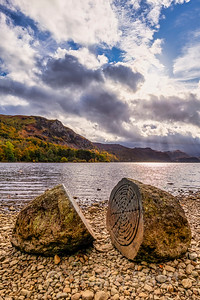 Centenary Stones at Calfclose Bay, Derwentwater
