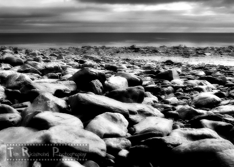 Laxey Beach (Infrared)