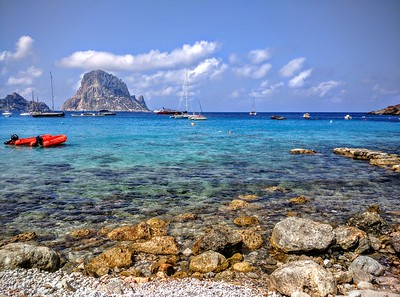 Beaches of Ibiza, Spain