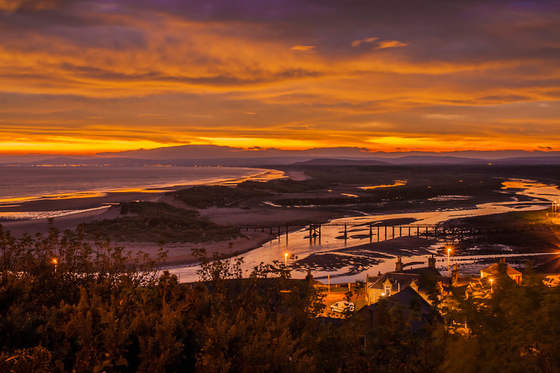 A very popular view of Lossiemouth East Beach at sunrise.