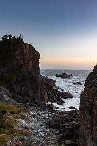 Patrick's Point at Sunset