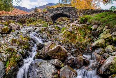Ashness Bridge at Borrowdale, Keswick