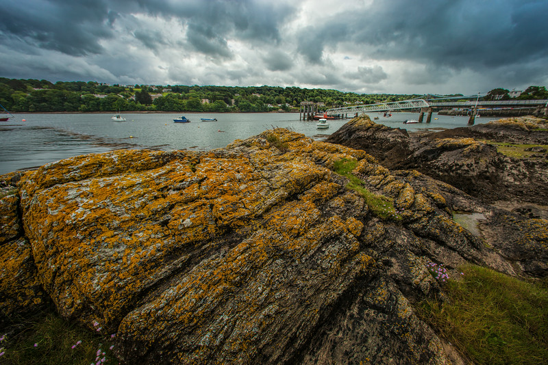 Menai Straights from Anglesey.