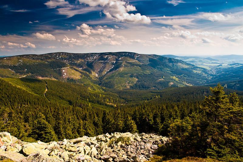 The Śnieżnik Mountains, Poland
