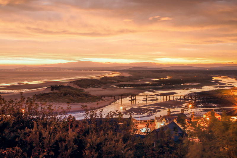 The River Lossie and East Beach Lossiemouth
