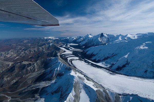 View above Alaskan Range