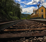 Train Station at Thurmond, WV