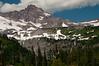 Peaks of Mt Rainier