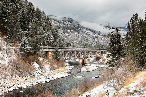 Bridge Over River Payette