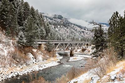 Bridge Over River Payette