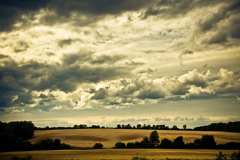 Fields near Międzyrzecz, Poland