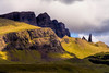 The Old Man of Storr on the Isle of Skye, Scotland.
