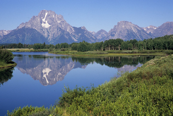 Mt Moran at Oxbow Bend