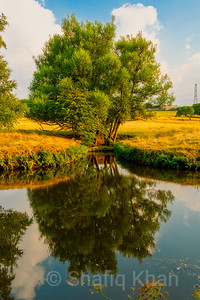 Reflection on the Leeds/Liverpool Canal