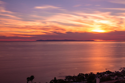 Sunset over Laguna Beach