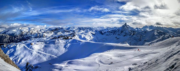 Three Valleys in France - Courchevel, Meribel, Val Thorens
