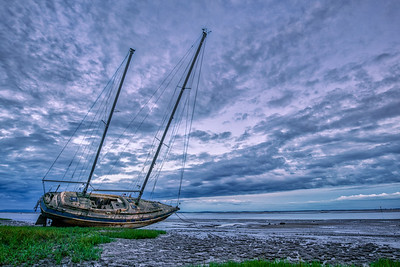The Celestial Dawn Yacht off Lytham