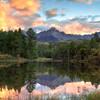 Mount Sneffels Sunset Reflections