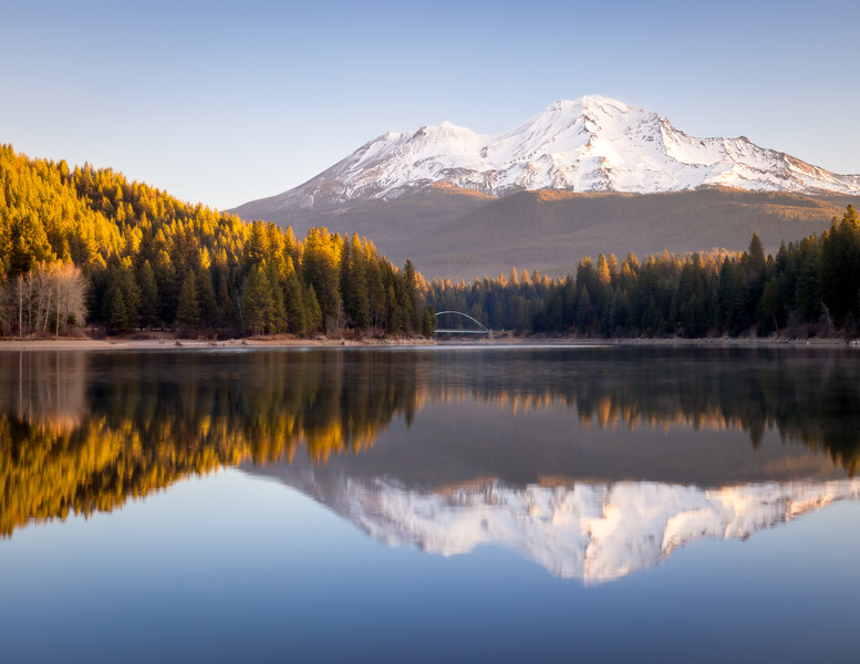 Lake Siskiyou Winter Reflections