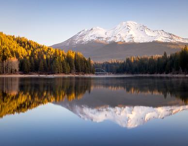Lake Siskiyou Winter Reflections